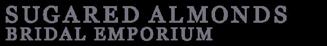 sugared almonds bridal emporium logo
