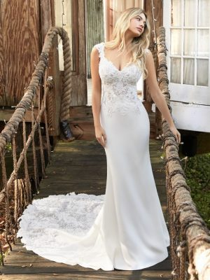 Amy Rebecca Ingram Wdding Dress